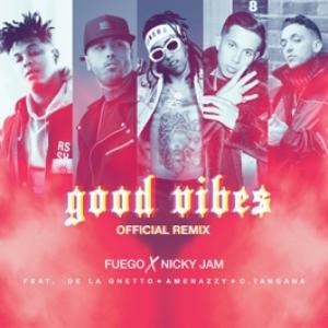 Fuego, Nicky Jam, De La Ghetto, Amenazzy Y C. Tangana - Good Vibes (Rmx)